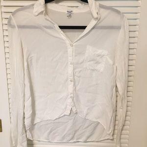 Splendid Long Sleeve Button Down Shirt - XS